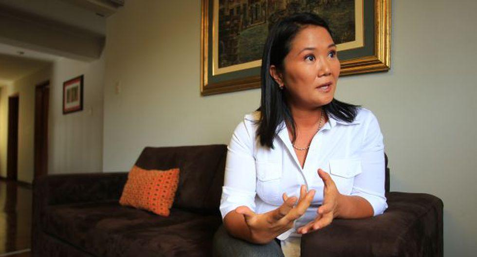 Keiko Fujimori a Humala: Más memoria y menos demagogia