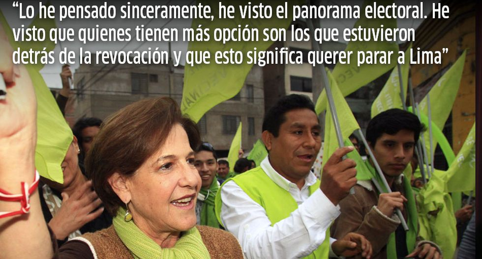 Las 20 frases que nos dejó la campaña municipal en Lima  - 2