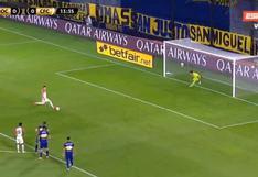 Boca Juniors vs Caracas EN VIVO: Andrada atajó penal para los 'Xeneizes' - VIDEO