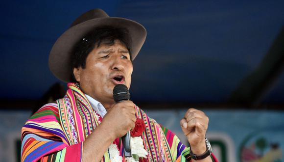 """Evo Morales, en un acto realizado en el departamento de Cochabamba, el bastión del presidente, dijo que si persisten las movilizaciones van a realizar un """"cerco"""" al área urbana. (Reuters)"""