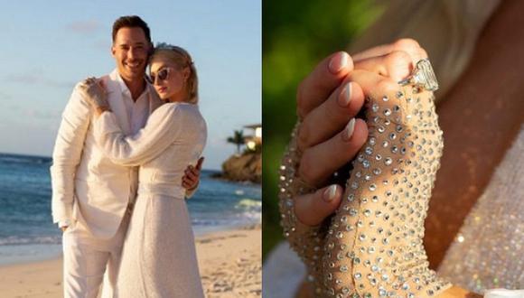 """La modelo Paris Hilton considera a Carter Reum su """"alma gemela"""" y se casarán pronto tras recibir un exclusivo anillo de compromiso. (Foto: parishilton.com)"""