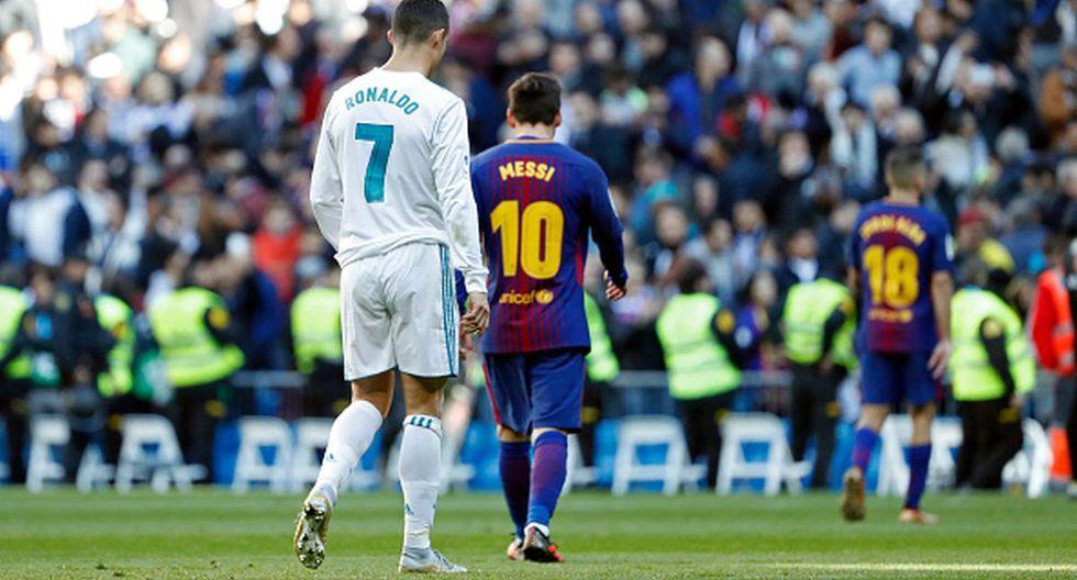 Cristiano Ronaldo y Lionel Messi protagonizaron una dura rivalidad en el Real Madrid y Barcelona por casi una década. (Getty Images)