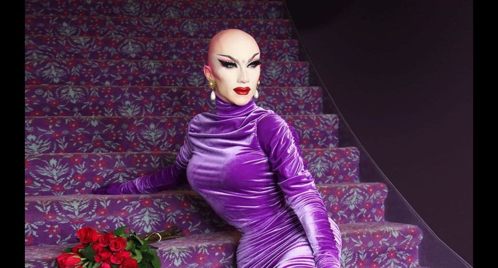 """8. Sasha Velour, la ganadora de la temporada 9, cuenta con más de 1.67 millones de seguidores. Actualmente esta presentado su tour """"Smoke and mirrors"""" y es una de las primeras drag queens en realizar un unipersonal lleno de increíbles sonidos e ilusiones."""