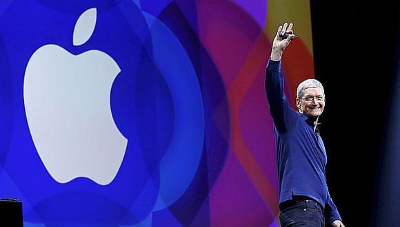 CEO de Apple obtuvo US$373 millones en acciones en cinco años