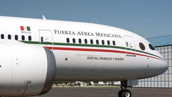 El avión presidencial de México fue adquirido en el 2012 por el expresidente Felipe Calderón (2006-2012), pero llegó al país en febrero de 2016, bajo la presidencia de Enrique Peña Nieto (2012-2018) y entre críticas por su costo de 218,7 millones de dólares. (ALEJANDRO MELENDEZ / AFP).