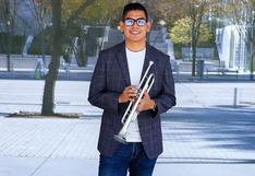 ¿Quién es el trompetista peruano que tocó en grabación para honrar la inauguración de Joe Biden?