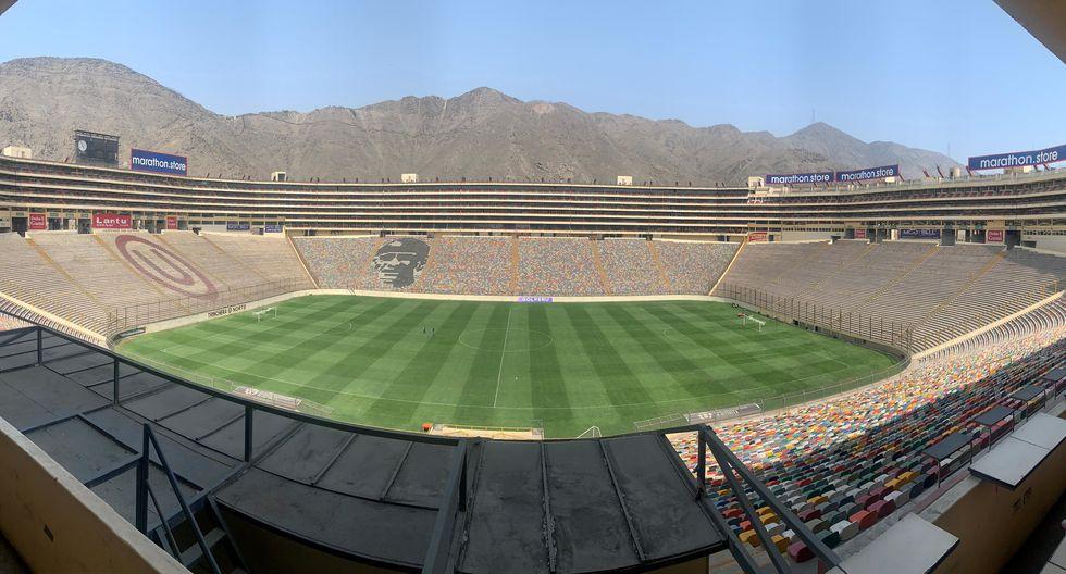 El estadio Monumental fue designado por CONMEBOL como el escenario de la final de la Copa Libertadores 2019   Foto: EFE