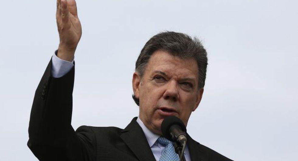 Santos: Que el gobierno de Venezuela y la oposición dialoguen