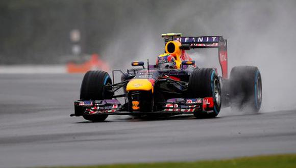 MOTORSPORT - F1 2013 -  BRITISH GRAND PRIX - GRAND PRIX D'ANGLETERRE - SILVERSTONE (GBR) - 28 TO 30/06/2013 - PHOTO : ALEXANDRE GUILLAUMOT / DPPI - 02 WEBBER MARK (AUS) - RED BULL RENAULT RB9 - ACTION