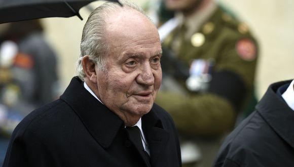 """Corinna Larsen declaró ante un fiscal suizo que el rey emérito de España Juan Carlos I le transfirió 65 millones de euros a una cuenta como """"regalo"""" y """"gratitud"""" (Foto: JOHN THYS / Belga / AFP)."""