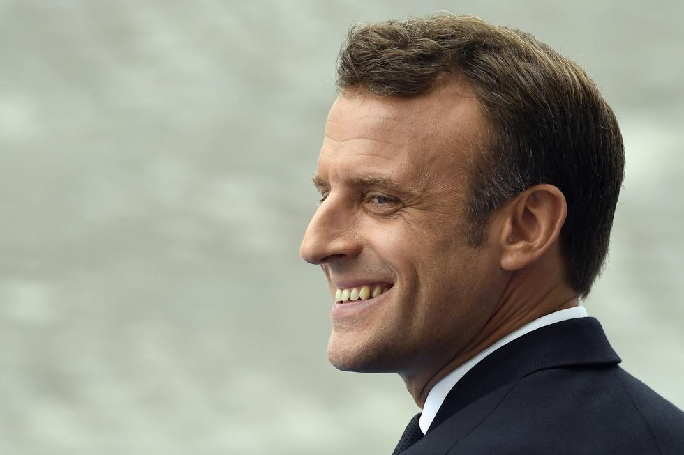 """El jefe de Estado francés se ha visto confrontado en los últimos meses a un largo movimiento social de protesta de los """"chalecos amarillos"""". (Fotos: AFP)"""