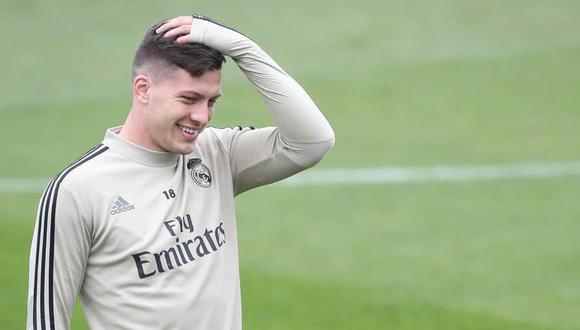 Luka Jovic es pretendido por Chelsea y Leicester City de la Premier League. (Foto: AFP)