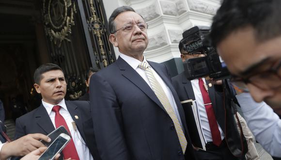 La Mesa Directiva exhortó al congresista Edgar Alarcón a presentarse a la sesión de este lunes. (Foto: GEC)
