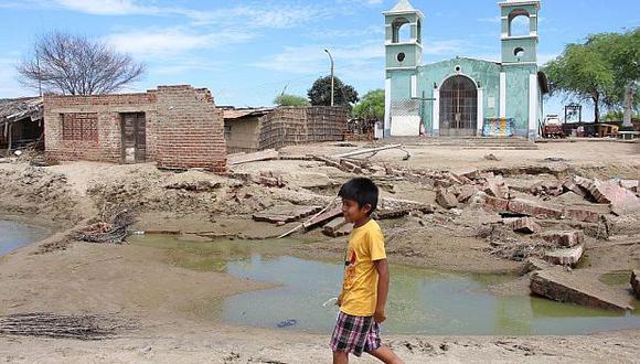 COEN: Piura es la región con más casas afectadas por lluvias
