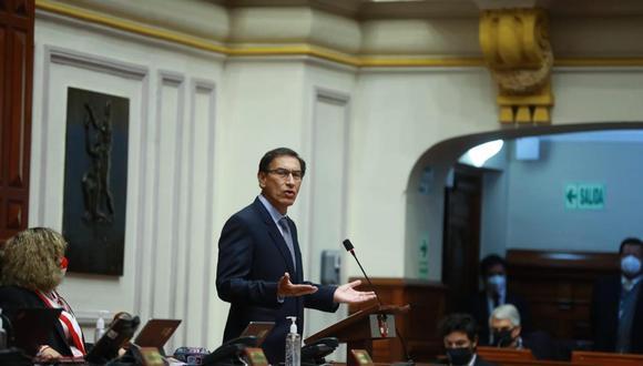 Martín Vizcarra aseguró que la moción de vacancia atenta contra su derecho a la defensa. (Foto: Palacio de Gobierno)