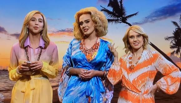 Adele y Saturday Night Live han sido criticados por un sketch donde se burlan de los estereotipos contra los hombres africanos. (Foto: Captura de YouTube).