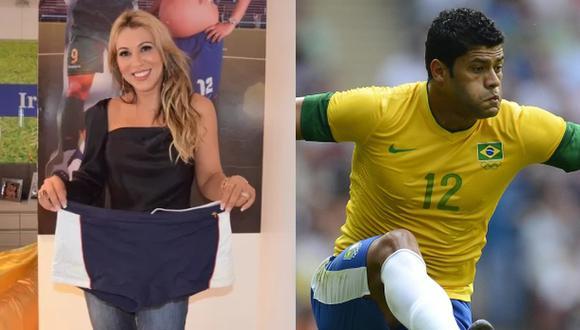 La esposa de Hulk resalta los atributos físicos del brasileño