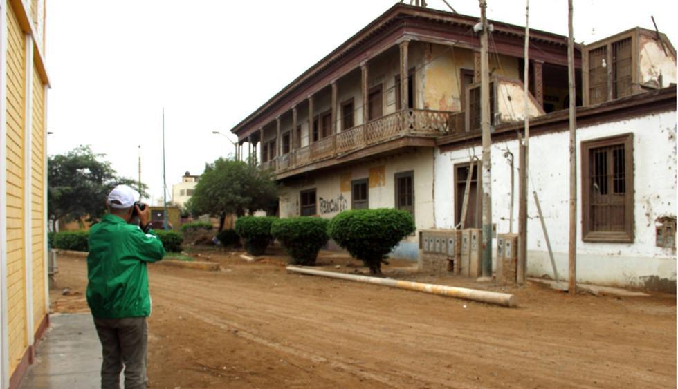 La exhacienda Casa Blanca Siglo XVIII. Centro Poblado Menor Laura Caller, San Luis de Cañete. (Foto: Erick Sarmiento)