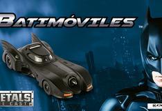 Los vehículos de Batman: la colección que cierra el año con 7 batimóviles a escala 1:32