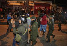 Bolivia: La policía dispersa protestas ante un mitin de Evo Morales