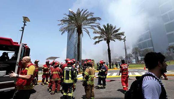 Incendio en Larcomar no fue por un cortocircuito, según PNP