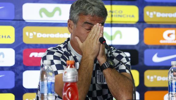 Alianza Lima: Pablo Bengoechea aclarará su situación en Alianza Lima este lunes en Matute en conferencia de prensa   Foto: Violeta Ayasta/GEC
