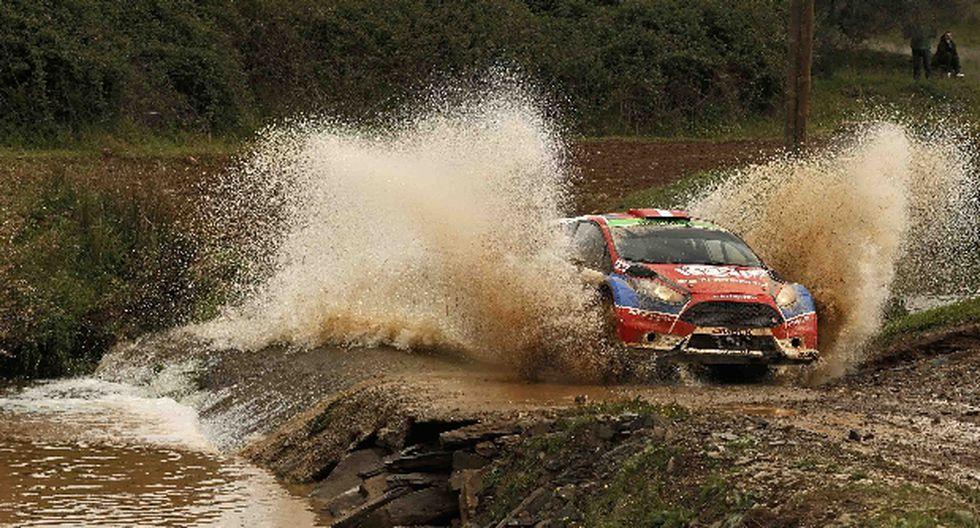 Nicolás Fuchs culminó etapa de hoy en Rally de Portugal
