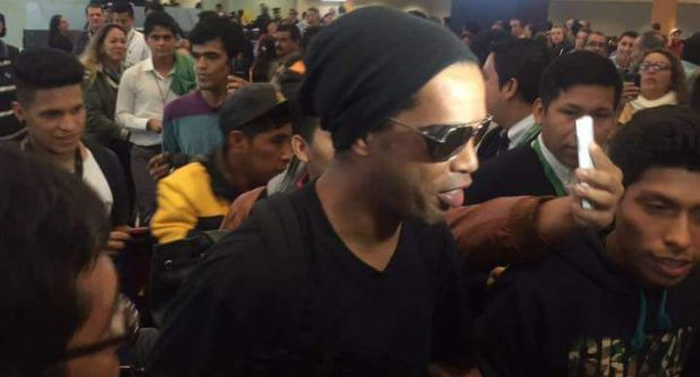 Ronaldinho llegó a Cusco en medio de gran expectativa [FOTOS] - 8