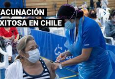 ¿A qué se debe el éxito de la campaña de vacunación en Chile?