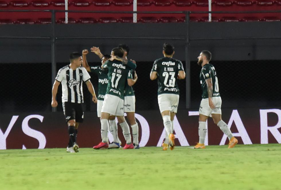 Palmeiras enfrentó a Libertad por la Copa Libertadores