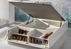 Siete alternativas novedosas para organizar tus zapatos en casa | FOTOS