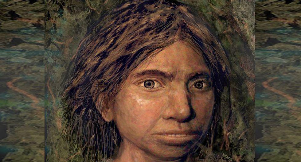 Fotografía que muestra el resultado final de la recreación del retrato de una niña denisovana basado en un perfil esquelético reconstruido a partir de antiguos mapas de metilación del ADN . (Foto: EFE)