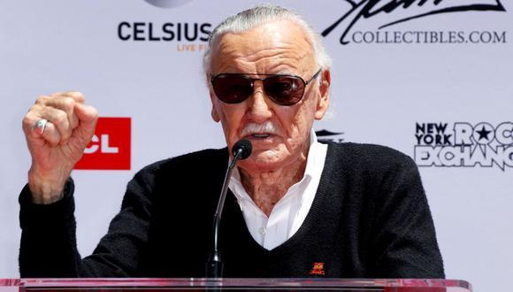 Stan Lee, el genio detrás del Universo de Marvel, falleció a los 95 años. (Foto: EFE)