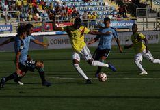 Uruguay empató sin goles ante Colombia y clasificó al Mundial Sub 20 de Polonia