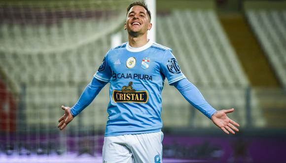 Alejandro Hohberg es uno de los goleadores de Cristal.