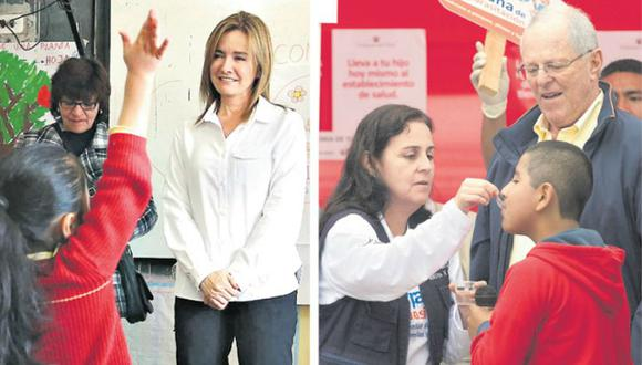 Ambas ministras tuvieron que enfrentar huelgas en sus sectores.