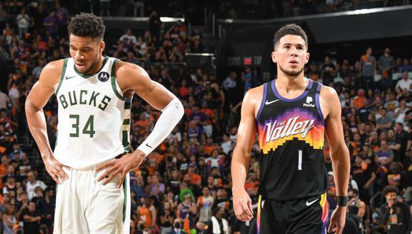 Suns enfrentó a Bucks en el Game 5 de las NBA Finals
