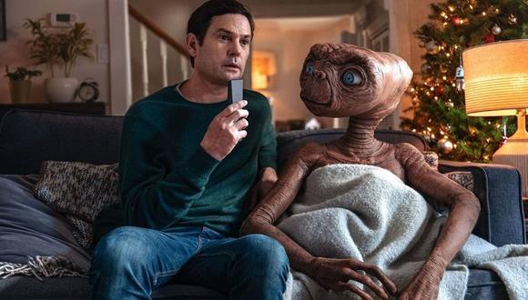 La creación más famosa de Steven Spielberg vuelve a aparecer para campaña navideña de la compañía de televisión Xfinity.