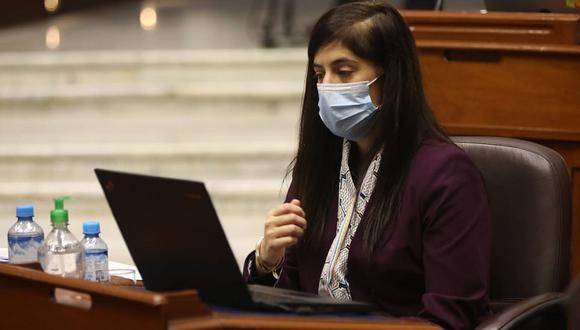 María Antonieta Alva tiene un pedido para ser interpelada ante el Parlamento. (Foto: Congreso)