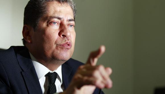 """""""No hay ninguna norma que le impida al presidente presentar una segunda o tercera medida cautelar dentro del mismo proceso, pero no se ha dado ningún caso"""", señaló el magistrado. (Foto: Andina)"""