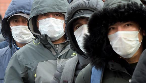 Pandemia por el COVID-19. (Foto: Olga MALTSEVA / AFP)