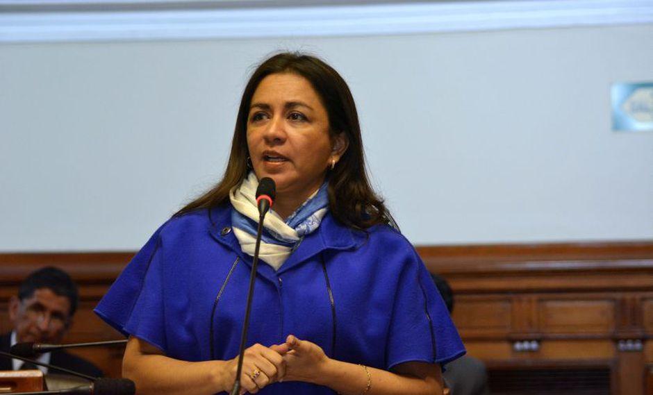Marisol Espinoza demandó constitucionalmente al presidente Martín Vizcarra, por la disolución del Congreso de la República (Foto: Congreso Perú)