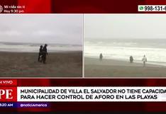 Villa El Salvador: prohíben venta de comidas y bebidas en sus playas