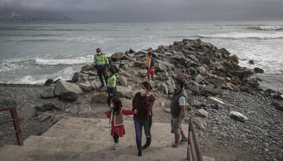 El Minsa afirmó que la restricción de playas solo aplica desde hoy hasta el próximo 4 de enero hasta la fecha. (Foto: Renzo Salazar/GEC)