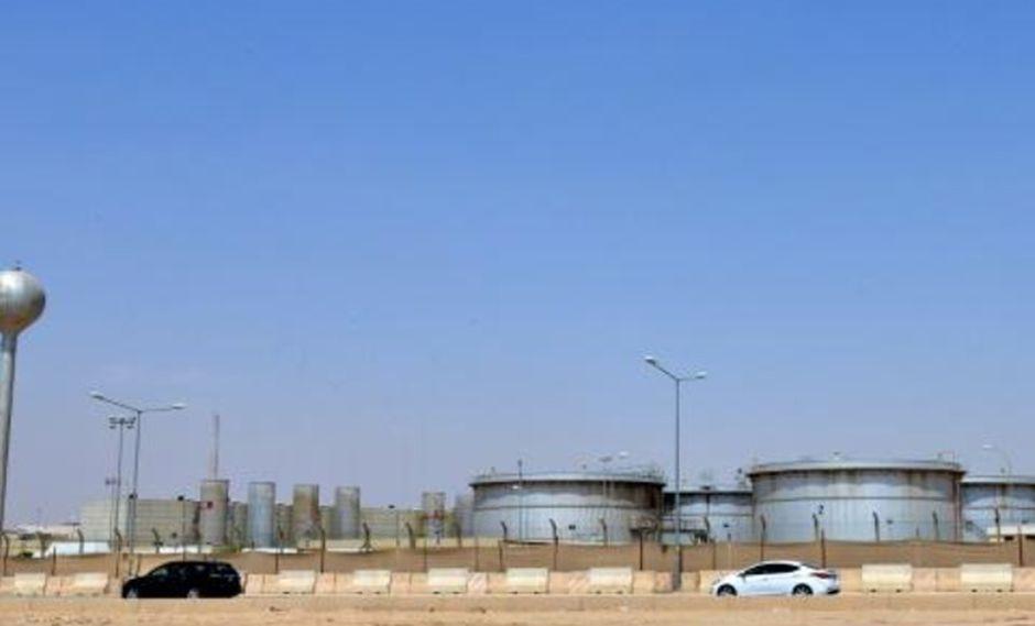 Las instalaciones de la petrolera Aramco en Riad, en una imagen del 15 de septiembre de 2019. (Foto: AFP)