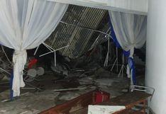 Huancayo: así quedó el local afectado por caída de techo donde murieron al menos seis personas