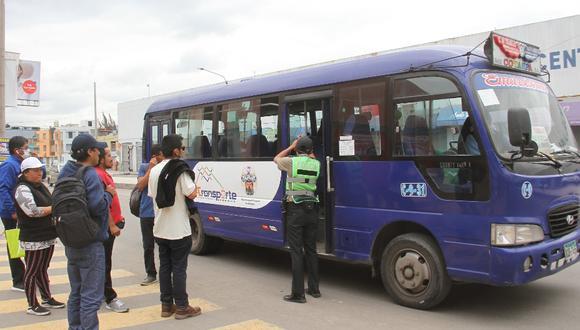 Arequipa: Suspenden a tres empresas del SIT por no cumplir con protocolo de bioseguridad para evitar contagios de coronavirus.