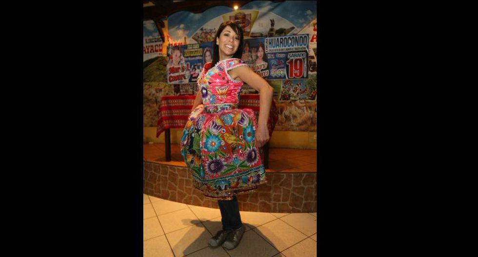 La actriz animó el aniversario de la cantante folclórica Marisol Cavero. (Foto: archivo El Comercio)