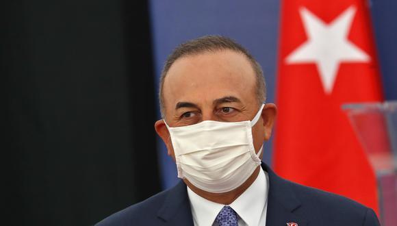 Mevlut Cavusoglu, ministro de Relaciones Exteriores de Turquía- EFE