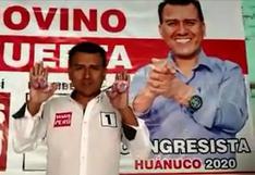 Huánuco: candidato pide ayuda para recuperar las llaves de su camioneta que perdió regalando llaveros